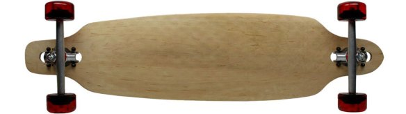 """Moose Longboard Complete 9/"""" x 36/"""" Drop Through Bamboo Top and Bottom"""