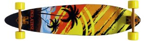 Paradise Sunset Sketch Longboard Complete