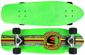 Paradise-Barking-Rasta-Stain-Neon-Green-with-Clear-Grip-Tape