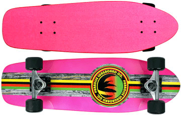 Paradise-Barking-Rasta-Stain-Pink-with-Pink-Grip-Tape