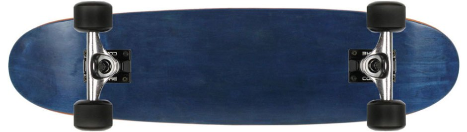 Moose Navy Blue Canadian Cruiser Longboard Complete