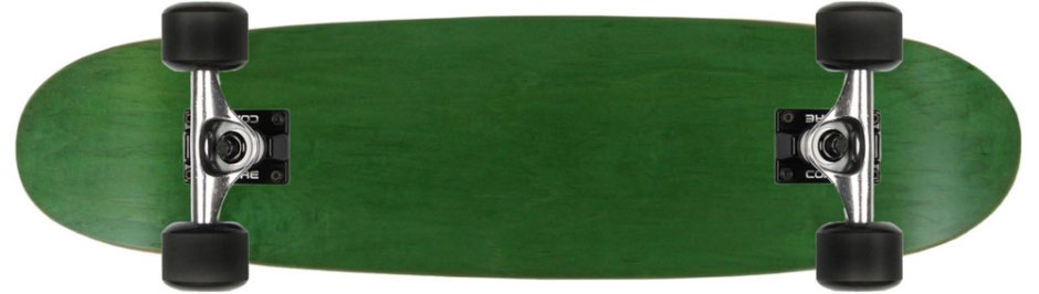 Moose Forest Green Canadian Cruiser Longboard Complete