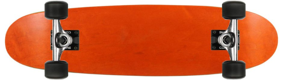 Moose Orange Canadian Cruiser Longboard Complete