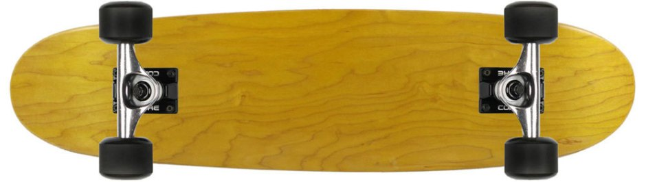 Moose Yellow Canadian Cruiser Longboard Complete