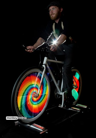 Monkey Light Pro Spiral Bike Wheel