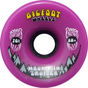 bigfoot-wheel-76mm-80a-mountain-cruisers-solid-purple-longboard-wheel-single