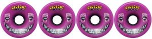 bigfoot-wheel-76mm-80a-mountain-cruisers-solid-set-of-4-purple-longboard-wheels