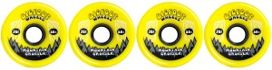bigfoot-wheel-76mm-80a-mountain-cruisers-solid-set-of-4-yellow-longboard-wheels