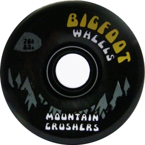 bigfoot-wheel-76mm-83a-mountain-crushers-black-longboard-wheel-single