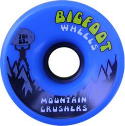 bigfoot-wheel-76mm-83a-mountain-crushers-blue-longboard-wheel-single