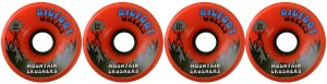 bigfoot-wheel-76mm-83a-mountain-crushers-set-of-4-orange-longboard-wheels