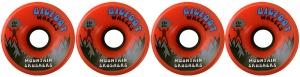 bigfoot-wheel-76mm-83a-mountain-crushers-set-of-4-orange-longboard-wheels