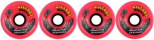 bigfoot-wheel-76mm-83a-mountain-crushers-set-of-4-pink-longboard-wheels