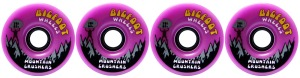 bigfoot-wheel-76mm-83a-mountain-crushers-set-of-4-purple-longboard-wheels