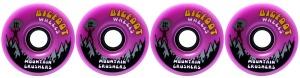 bigfoot-wheel-76mm-83a-mountain-crushers-set-of-4-purple-longboard-wheels