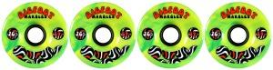 bigfoot-wheel-76mm-84a-marbles-swirl-set-of-4-yellow_green-longboard-wheels