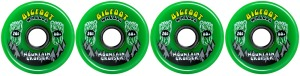 bigfoot-wheels-76mm-80a-set-of-4-solid-green-mountain-cruisers-longboard-wheels