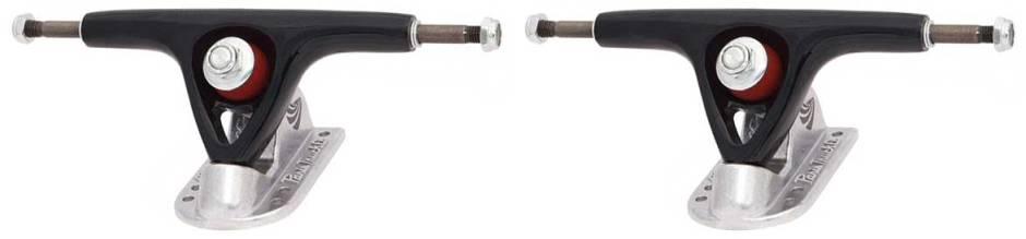 150mm-paris-black-and-raw-longboard-trucks-set-of-2
