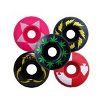 Graphic Skateboard Wheels