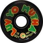 dregs-luv-yo-mutha-70mm-black-soy-longboard-wheel-single