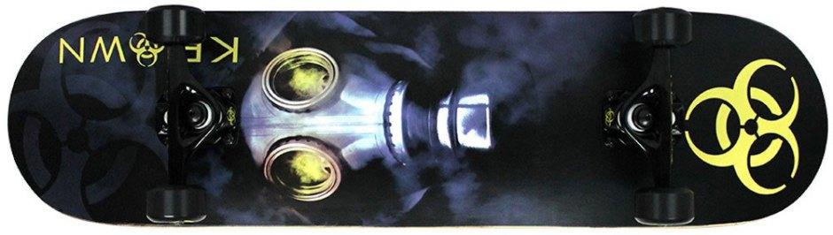 Krown Biohazard Pro Skateboard Complete
