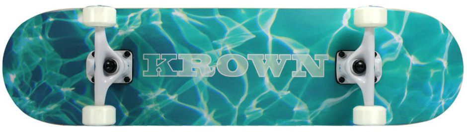 Krown Pro Aquatic Skateboard Complete