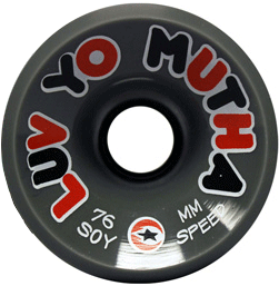 Luv-Yo-Mutha-Soy-76-Grey-Single