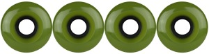 nova-wheel-61mm-center-set-olive-smooth-set-of-4-longboard-wheels