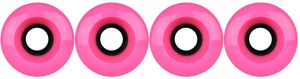 nova-wheel-61mm-pink-smooth-center-set-set-of-4-longboard-wheels