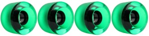nova-wheel-61mm-transparent-green-shaved-center-set-set-of-4-longboard-wheels