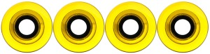 nova-wheel-61mm-transparent-yellow-smooth-center-set-set-of-4-longboard-wheels