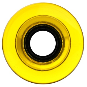 nova-wheel-61mm-transparent-yellow-smooth-center-set-single-longboard-wheel