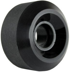 nova-wheel-65mm-black-end-cut-shaved-center-set-single-longboard-wheel