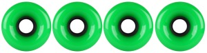 nova-wheel-65mm-green-smooth-side-set-set-of-4-longboard-wheels
