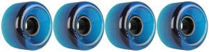 nova-wheel-65mm-transparent-blue-shaved-side-set-set-of-4-longboard-wheels