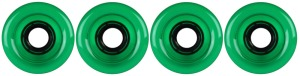 nova-wheel-65mm-transparent-green-smooth-side-set-set-of-4-longboard-wheels