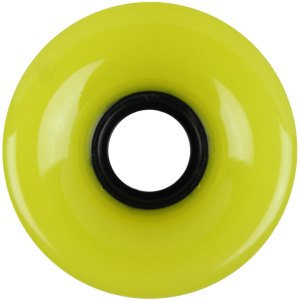 nova-wheel-65mm-yellow-smooth-off-set-single-longboard-wheel