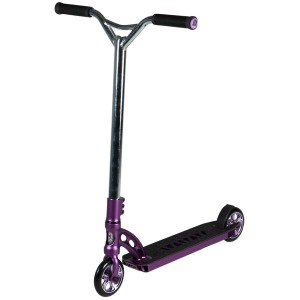 Madd Gear VX5 Extreme Scooter Chrome and Purple Scooter Complete