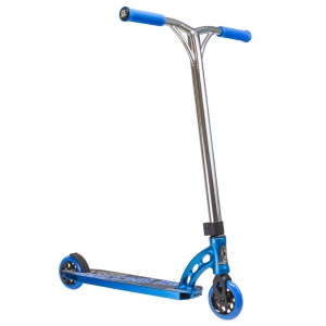 Madd Gear VX5 Team Scooter Chrome Bar Blue Scooter Complete