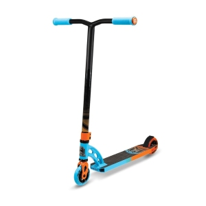 Madd Gear VX6 Pro Blue and Orange Scooter Complete
