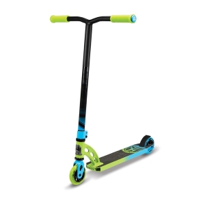 Madd Gear VX6 Pro Green and Blue Scooter Complete