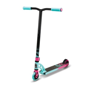 Madd Gear VX6 Pro Teal and Pink Scooter Complete