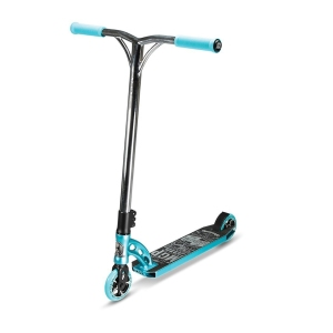 Madd Gear VX6 Team Teal and Chrome Scooter Complete