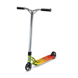 Madd Gear VX6 Extreme Vintage Rasta Scooter Complete