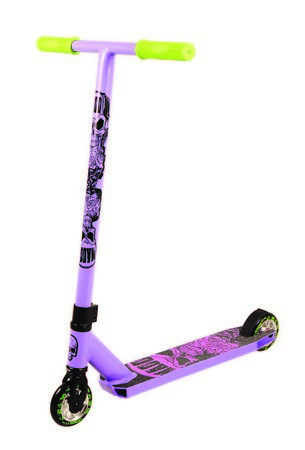 Madd Gear Kick Scooter Purple Scooter Complete