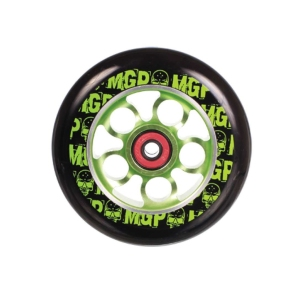 Madd Gear Aero Scooter Wheel 100mm Black and Green Scooter Wheel