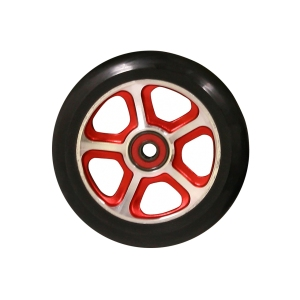 Madd Gear Filth Scooter Wheel 110mm Black and Red Scooter Wheel