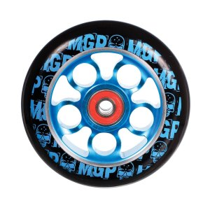 Madd Gear Aero Scooter Wheel 100mm Black and Blue Scooter Wheel