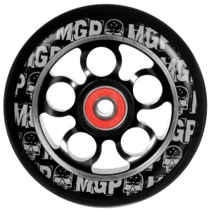 Madd Gear Aero Scooter Wheel 110mm Black and Silver Scooter Wheel