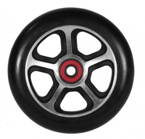 Madd Gear Filth Scooter Wheel 110mm Black and Alloy Scooter Wheel